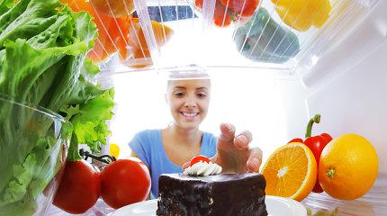 Produktai, kurių nederėtų laikyti šaldytuve