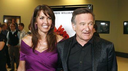 Komiko Robino Williamso našlė ir trys jo vaikai susipyko dėl palikimo