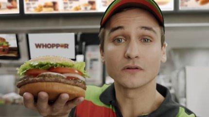 """""""Burger King"""" ketina pasiūlyti vegetariškų mėsainių ir savo klientams Europoje"""