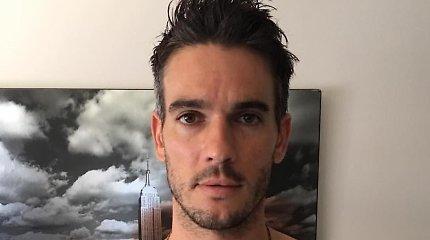 Katy Perry seksualiniu priekabiavimu kaltinantis Joshas Klossas