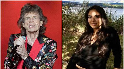 Nauja Micko Jaggerio draugė – net 52 metais jaunesnė už jį