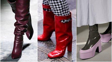 7 aktualiausios rudens sezono avalynės tendencijos: kokius batus rinktis?