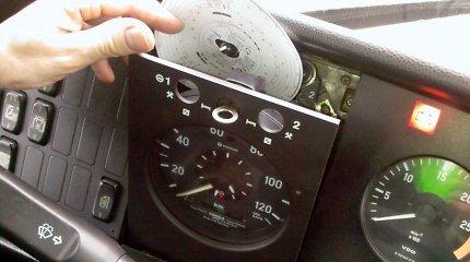 Išmanieji tachografai: padės išvengti ir KET pažeidimų, ir šešėlio