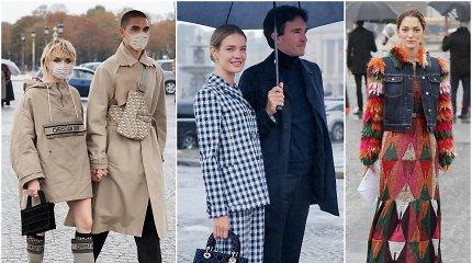 """Paryžiaus mados savaitė: tarp svečių – supermodelis N.Vodianova ir """"Sostų karų"""" žvaigždė M.Williams"""