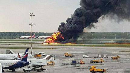 """""""Aeroflot"""" ugnies pragare daugelis keleivių neturėjo jokių galimybių išsigelbėti"""