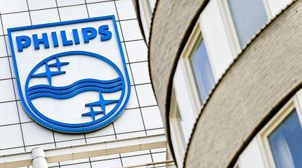 """""""Philips"""" dėl """"geopolitinių"""" problemų uždarys gamyklą Jungtinėje Karalystėje"""