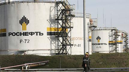 """Rusijos naftos milžinė """"Rosneft"""" nutraukia veiklą Venesueloje"""