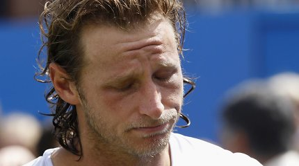 Traumų kamuojamas argentinietis Davidas Nalbandianas nusprendė baigti tenisininko karjerą