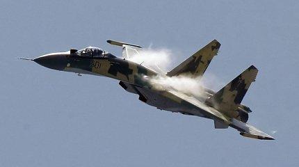 Rusijos naikintuvas nesaugiai perėmė JAV žvalgybos lėktuvą virš Viduržemio jūros