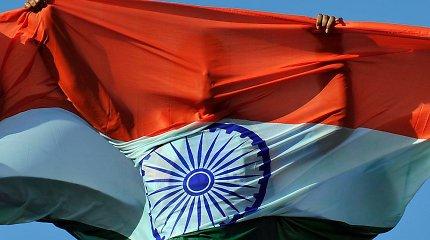 Indija nuo kitos savaitės didins muitus daugeliui amerikietiškų produktų