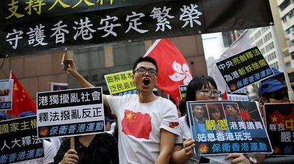 """""""Amnesty International"""": žmogaus teisių padėtis Honkonge """"smarkiai blogėja"""""""