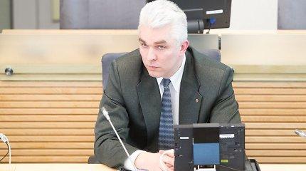 S.Skvernelio pavarytą buvusį STT vadovą Ž.Pacevičių priglaudė L.Graužinienė