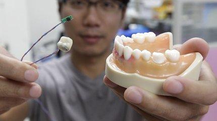 Išmanieji dantys stebės kasdieninius žmonių įpročius