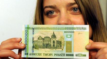 Baltarusijoje bazinės palūkanos mažinamos iki 10,5 proc.