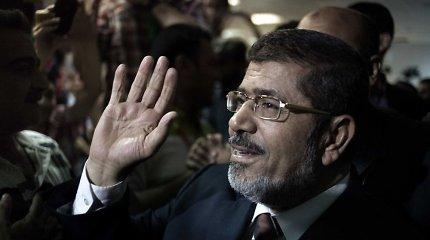 Nušalintajam Egipto prezidentui Mohammedui Morsiui paliktas galioti mirties nuosprendis