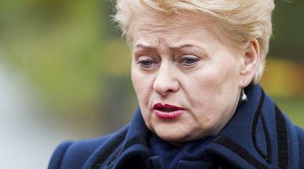 President Dalia Grybauskaitė: Chevron's withdrawal delays Lithuania's energy independence
