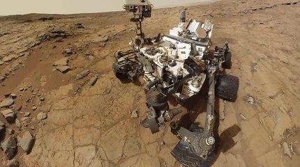 """Kaip praėjus metams nuo gedimo Marse sutaisytas """"Curiosity"""" grąžtas?"""