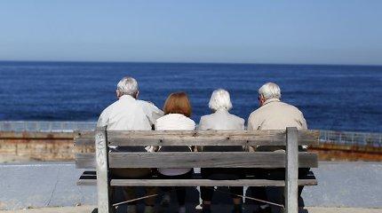 Jaunėjančioje visuomenėje nebelieka vietos seniems žmonėms?