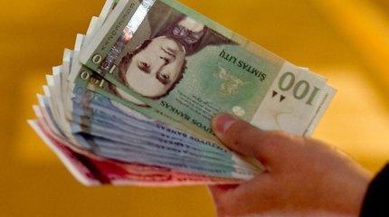 Šakių rajono gyventojas pabandė netikrą 100 litų kupiūrą išsikeisti į eurus