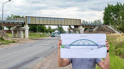 Alytiškiai džiūgauja: bus rekonstruojamas Naujosios gatvės viadukas
