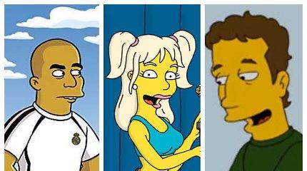 """30 """"Simpsonų"""" metų: ar pažinsite šias 15 įžymybių, pasirodžiusių seriale?"""