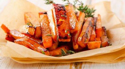 Gaminu kūrybingai #11: Saldžiųjų bulvių lazdelės