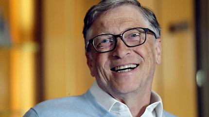 Billas Gatesas atsidūrė turtingiausių pasaulio gyventojų sąrašo viršūnėje