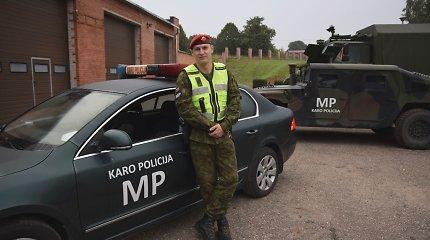 Karo policininkas Vilniuje sulaikė girtą ir agresyvų kelių gaidelį