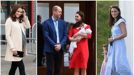 Prieš 7 savaites pagimdžiusi hercogienė Catherine vėl laiba it smilga: kaip jai pavyko?