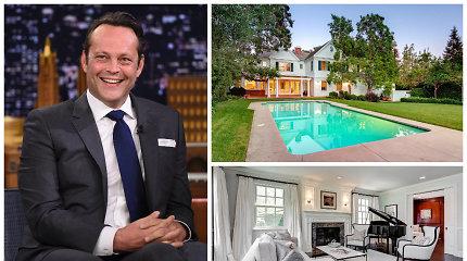 Aktorius Vince'as Vaughnas už 5,3 mln. JAV dolerių parduoda stilingai įrengtą vilą Los Andžele