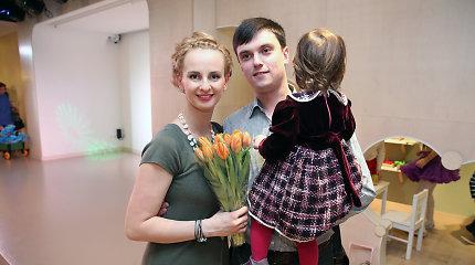Ieva Norkūnienė pagimdė sūnų, tėvai berniukui išrinko du vardus