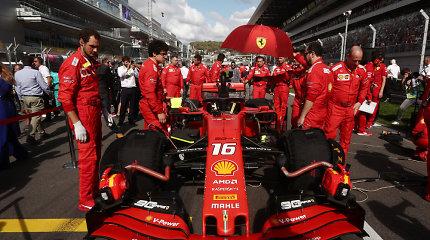 """""""Formulė 1"""": kodėl """"Ferrari"""" nesuvaldo savo žirgų?"""