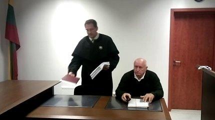 """Teisme dėl būsto skolų atsidūręs pirmasis Vilniaus meras Vytautas Bernatonis: """"Savivaldybė nori iškraustyti mane į nakvynės namus!"""""""