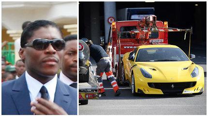 Su Klaipėdos verslininku susijęs Afrikos režimas reikalauja grąžinti Šveicarijoje konfiskuotas prabangias mašinas