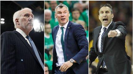 NBA trenerių atlyginimai – koks uždarbis lauktų Šaro?