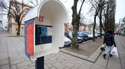 Lietuvoje artimiausiais metais turėtų nebelikti taksofonų
