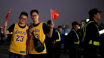 Kirtis žurnalistams: NBA komandų viešnagės Kinijoje metu dirbti nebegalės