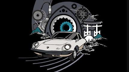 """""""Mazda"""" erzina rotorinių variklių gerbėjus – ko iš tikrųjų laukiame?"""