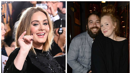 Atlikėja Adele paskelbė apie skyrybas su sutuoktiniu Simonu Konecki