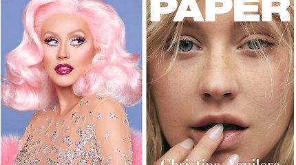 """Christina Aguilera atsisakė ryškaus makiažo ir tapo tarsi kitu žmogumi: """"Jaučiuosi išsilaisvinusi"""""""