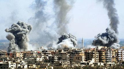 JT: nuo gruodžio dėl kovų Sirijos šiaurės vakaruose namus paliko 900 tūkst. žmonių