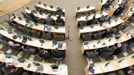 Už praleistus posėdžius parlamentarai gali negauti atlyginimo