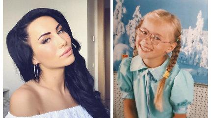"""Greta Lebedeva vaikystės nuotraukoje – neatpažįstama: """"Pamačius užplūdo daug gerų emocijų"""""""