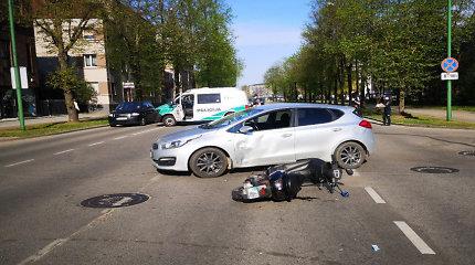 Kelių policija: trečiadienį – eismo įvykių ir juose nukentėjusių žmonių gausa