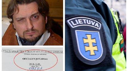 Savo bloge apie mitingą ir valdžią prabilusiam Varėnos mokytojui E.Nasevičiui – policijos įspėjimas