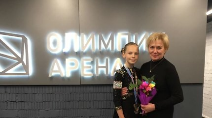 Minske – lietuvės čiuožėjos Agnės Ivanovaitės bronza