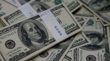 JAV biudžeto deficitas 2019-aisiais pirmą kartą per 7 metus viršijo 1 trln. JAV dolerių