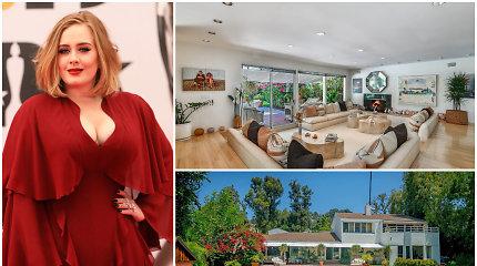 Adele nusipirko dar vieną namą Beverli Hilse: stovi priešais kitą prabangų jos būstą