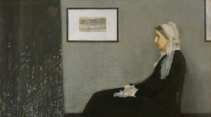 """Whistlerio motina: tikroji paveikslo, kurį išgarsino filmas """"Ponas Bynas"""", istorija"""