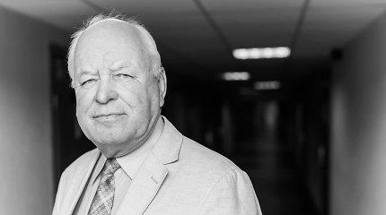 Po sunkios kovos su COVID-19 mirė prof. Pranas Baltrėnas
